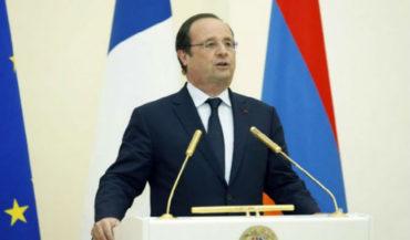 هولاند سيشارك في ذكرى الإبادة في 24 نيسان قرب تمثال كوميداس بباريس