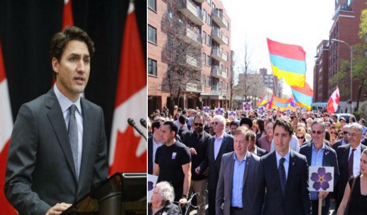 رئيس وزراء كندا جاستن ترودو يصدر بيانا بمناسبة الذكرى 102 للإبادة الأرمنية