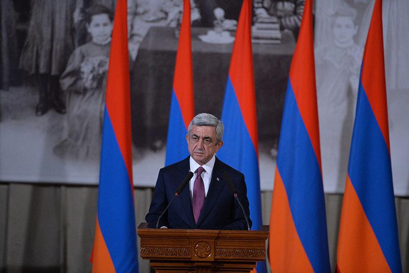 كلمة الرئيس الأرمني بمناسبة الذكرى الـ 102 للإبادة الجماعية الأرمنية