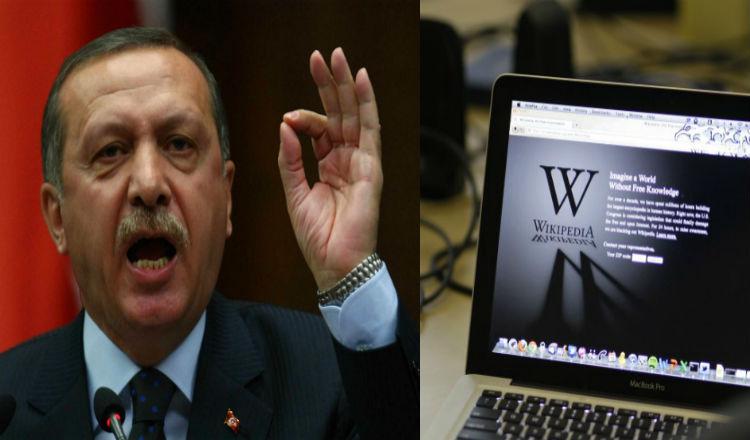 """أردوغان يحجب موقع """"ويكيبيديا"""" بجميع لغاته"""