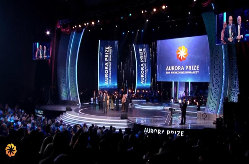 الطبيب الأمريكي توم كاتينا يفوز بجائزة أورورا للعام 2017 (فيديو)