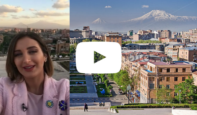 بالفيديو: ريحان يونان تزور أرمينيا وتحيكم من على قمة الكاسكاد