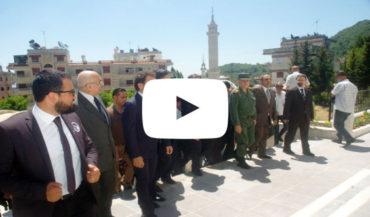 إعادة افتتاح الكنيسة الإنجيلية الأرمنية في بلدة كسب بعد إعادة تأهيلها