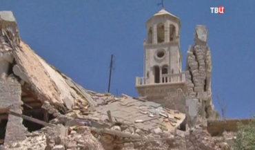 إعادة ترميم كنيسة الأربعين شهيد بحلب تبدأ الاسبوع المقبل وتستغرق عامين
