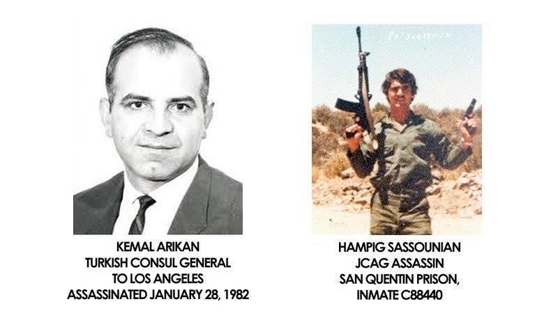 القنصل التركي الذي قتله ساسونيان