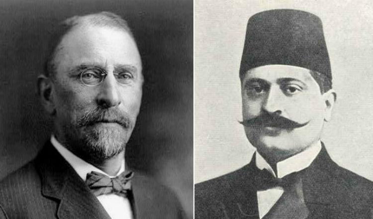 طلعت باشا يشرح أسابا تهجير الأرمن للسفير الأمريكي هينري مورغنتاو