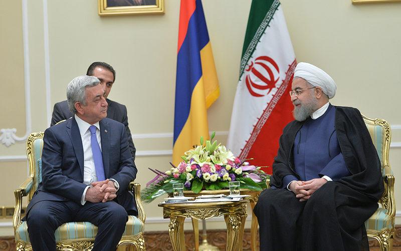 روحاني: إيران وأرمينيا بينهما حضارة ثقافية علينا الأستفادة منها