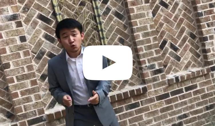"""الشاب الصيني """"ميشيل هي"""" يغني بالأرمينة"""
