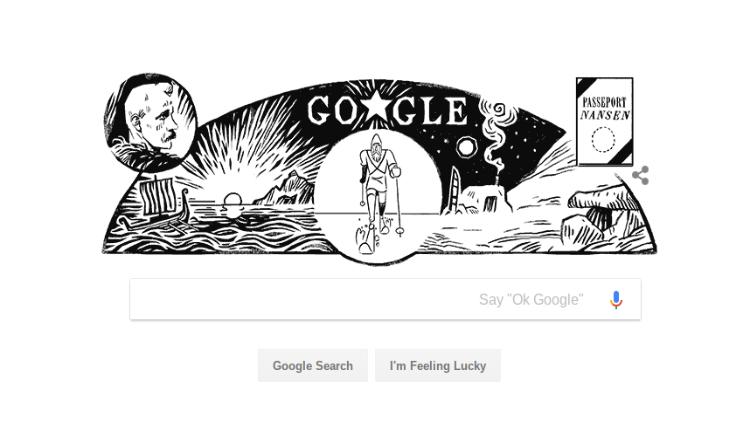 غوغل تحيي ذكرى ميلاد الرحالة النرويجي (صديق الأرمن) فريتيوف نانسين