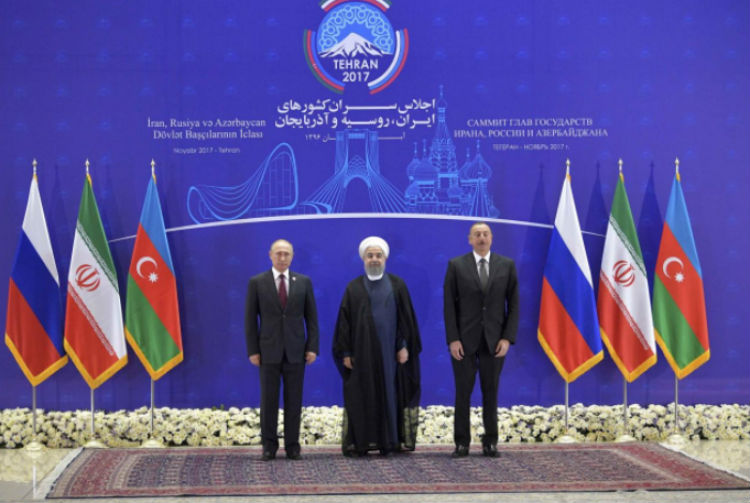 قمة إيرانية روسية أذربيجانية تنتهي بتفاهمات حول الإقليم والاقتصاد