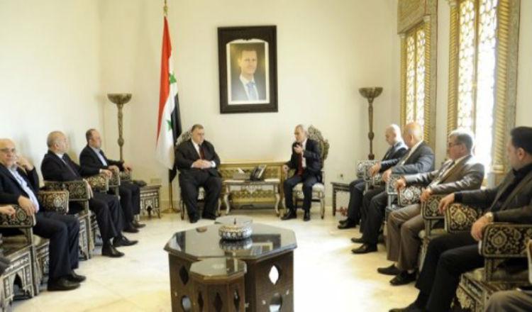 رئيس البرلمان السوري: الشعب السوري يعتز بمواقف أرمينيا