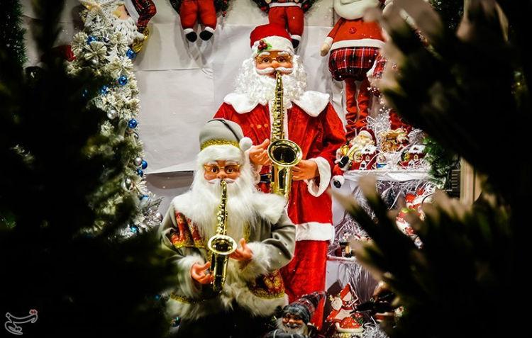 كيف هي أجواء الميلاد في الأحياء المسيحية بطهران