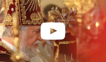 كلمة قداسة الكاثوليكوس آرام الأول كيشيشيان بمناسبة قداس الميلاد