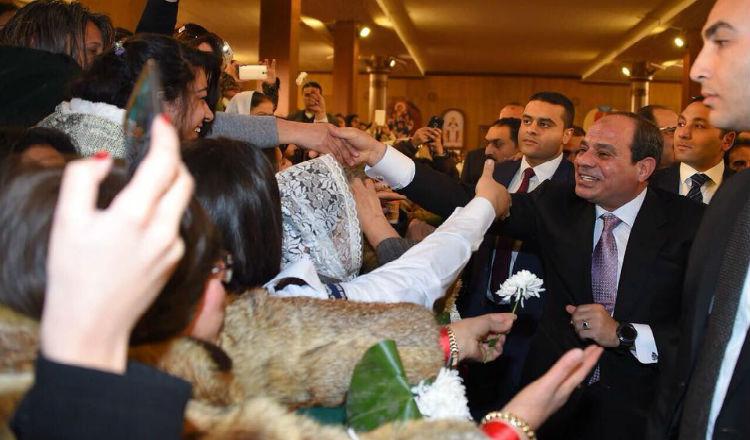 السيسي يهنئ الأرمن الأرثوذكس بعيد الميلاد المجيد
