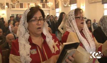 أرمن القامشلي يحتفلون بعيد الميلاد المجيد