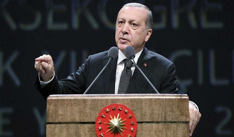 "إردوغان يهدد واشنطن: سنقضي على ""جيشكم"" في شمال سوريا"