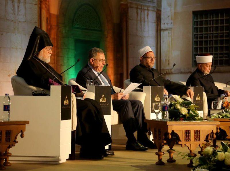آرام الأول كيشيشيان: المجتمع الدولي مذنب بحق الفلسطينيين