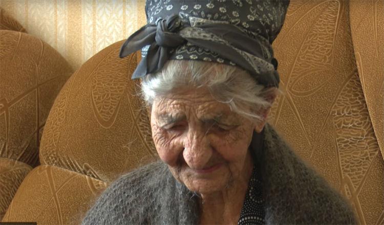 امرأة أرمنية تبلغ من العمر 117 عاما من المرجح أنها الأكبر سناً في العالم