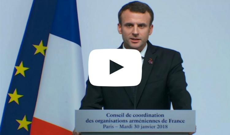 ماكرون لأرمن فرنسا: سنضيف ذكرى الإبادة إلى تقويمنا وكفاح الاعتراف بها معركتنا