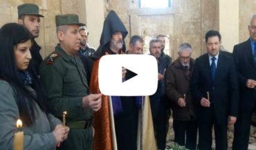 مطران الأرمن يزور دير الزور.. وصلاة في كنيسة الشهداء لأول مرة منذ سنوات