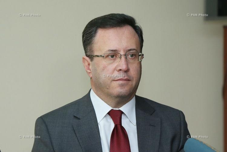 سامفيل مكرديتشيان.. سفير أرمينيا في لبنان