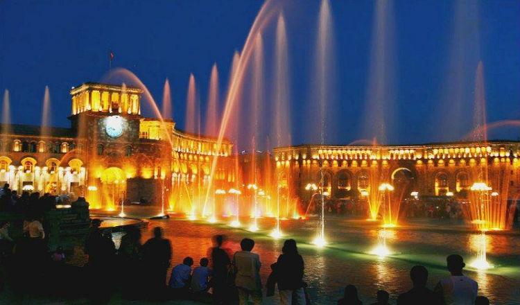 تشغيل جميع نوافير العاصمة يريفان إستعداد لمواسم السياحة