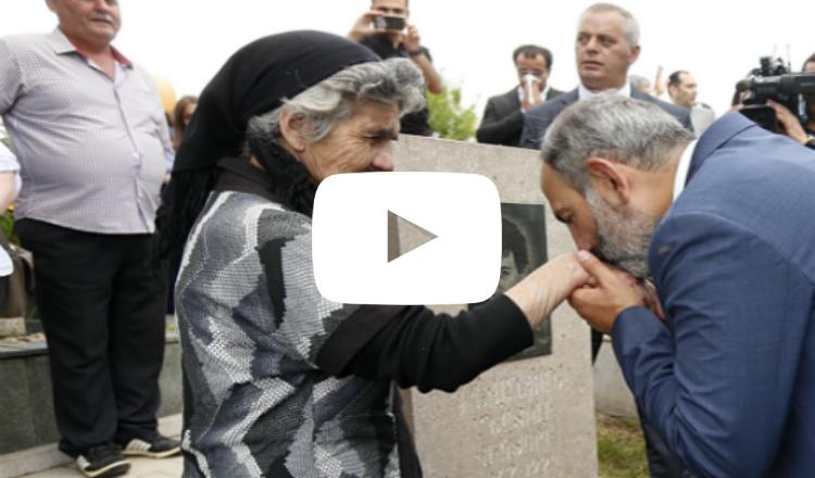 فيديو: إنه ابن الشعب.. رئيس وزراء أرمينيا الجديدة: نيكول باشينيان