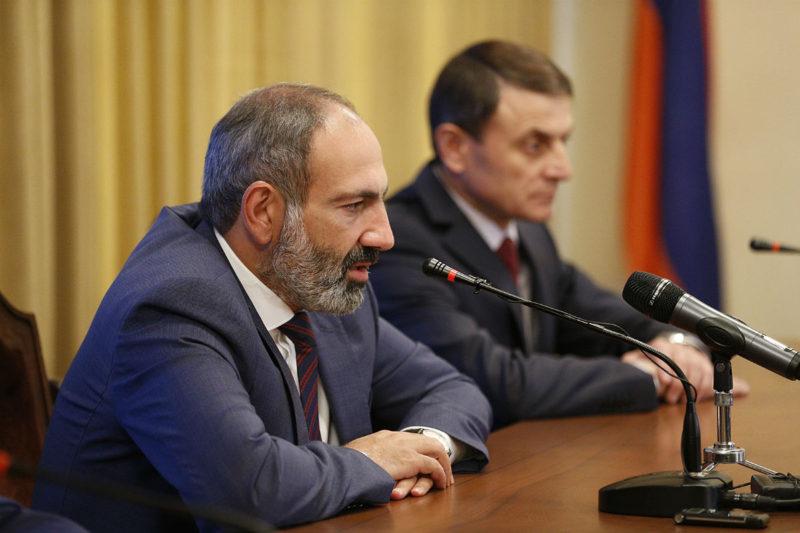 باشينيان: سنقتلع الفساد من جذوره وسيشعر المواطن بالفرق كل يوم
