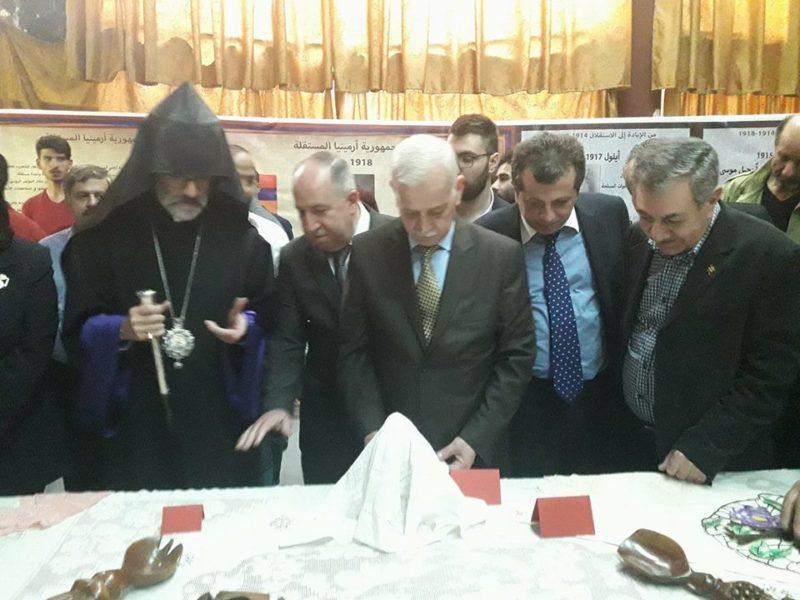 اختتام فعاليات الاسبوع الثقافي الأرمني بجامعة حلب
