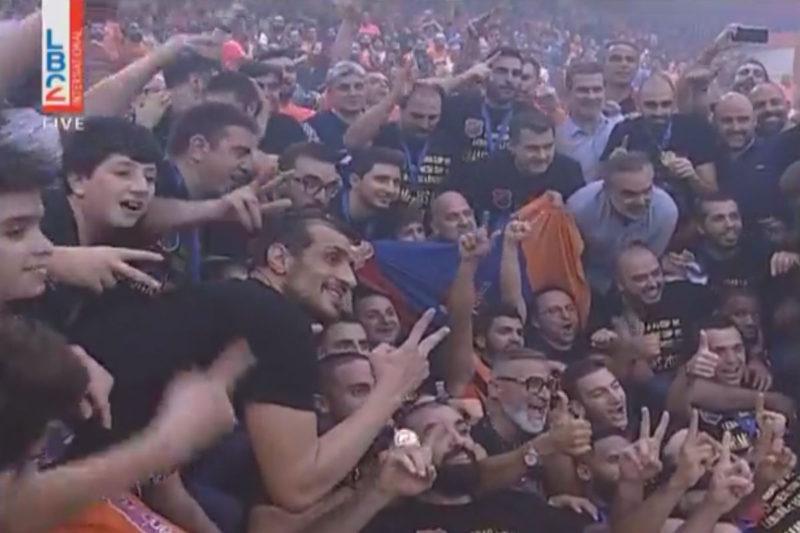 عــاجــل: هومنتمن يفوز ببطولة الدوري اللبناني لكرة السلة