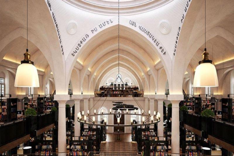 تركيا تحول كنيسة أرمنية تاريخية إلى مكتبة عامة