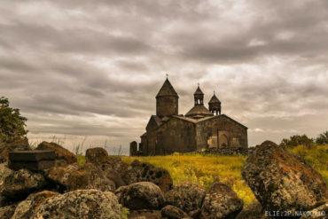 مشهد خريفي خارجي لدير المزامير، ساغموسافانك
