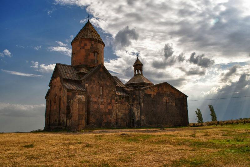 مشهد صيفي خارجي لدير المزامير، ساغموسافانك