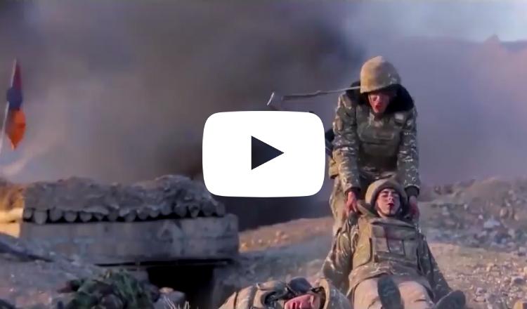 مشاهد مؤثرة من الحرب بين أرمينيا وأذربيجان