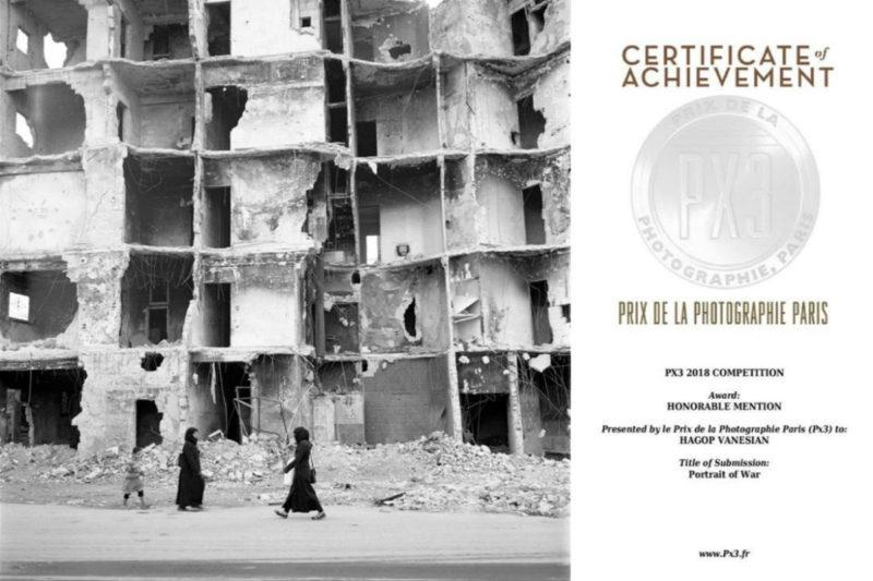 مصور سوري أرمني يفوز في مسابقة الصور الضوئية بباريس