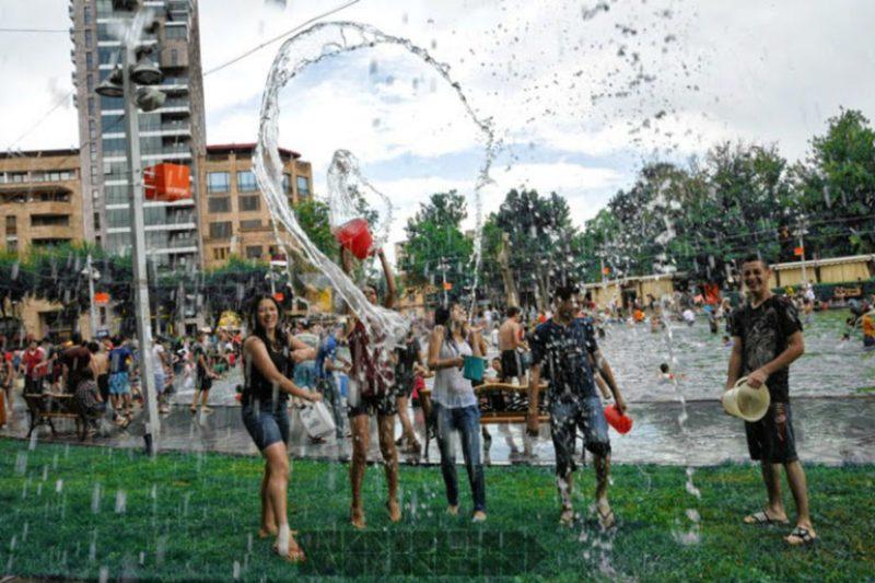 الفارتافار (عيد رش المياه).. إحدى أكثر العطل تفضيلا لدى سكان أرمينيا