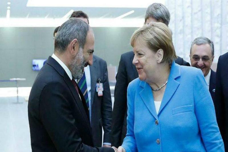 المستشارة الألمانية أنجيلا ميركل تزور أرمينيا بعد أيام