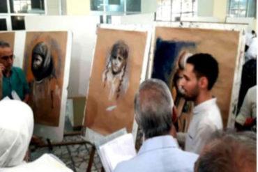 طالب سوري يختار الإبادة الأرمنية موضوعا للتخرج من كلية الفنون الجميلة