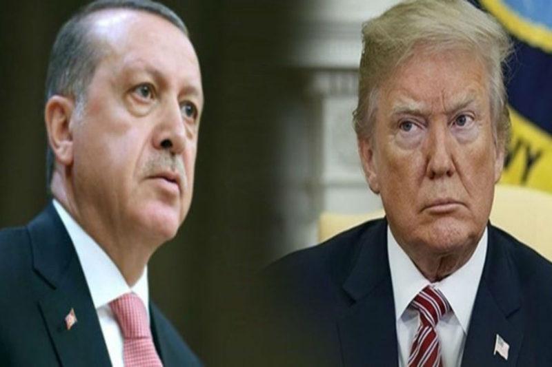 ترامب يعلن عن خيبة أمله من إردوغان