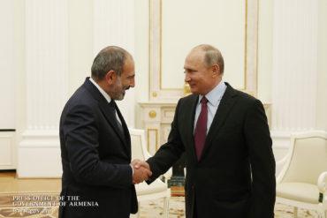 باشينيان يؤكد إرسال أرمينيا خبراء عسكريين إلى سوريا: مهمتنا ستكون إنسانية بحتة