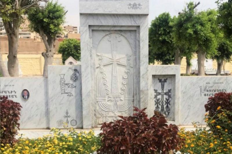 مقبرة تؤرخ لمئة عام من الوجود الأرمني في القاهرة
