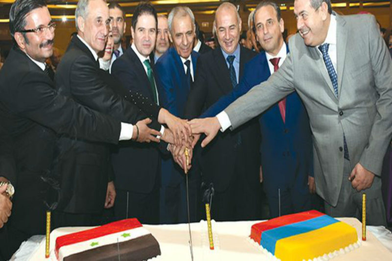سفارة أرمينيا تحتفل بعيدها الوطني وبولاديان يتمنى السلام لسوريا