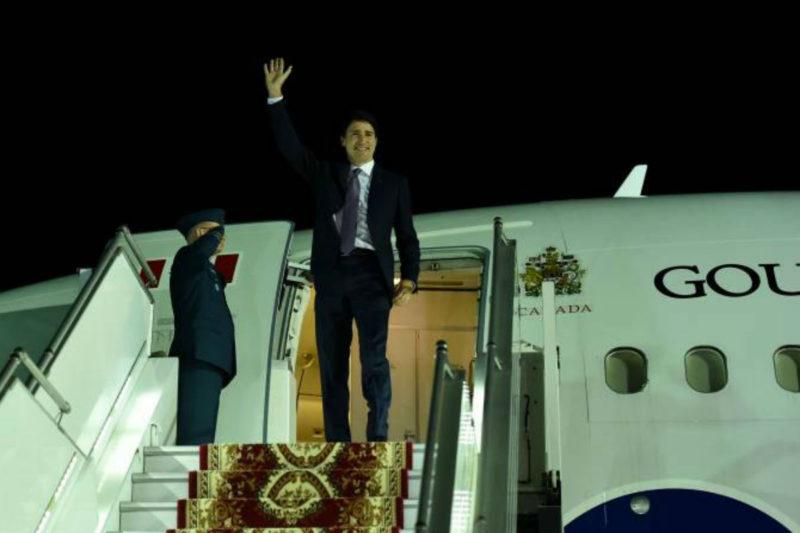 رئيس وزراء كندا جاستن ترودو يصل يريفان للمشاركة في قمة الفرانكفونية