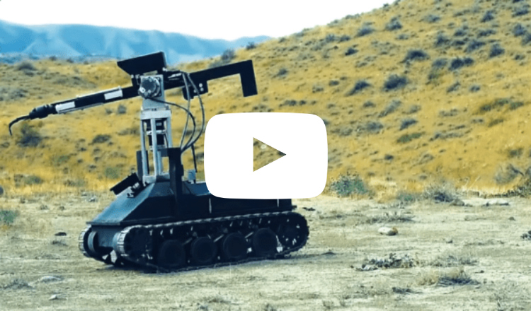 بالفيديو: اختبار أول روبوت عسكري قتالي من إنتاج أرمينيا
