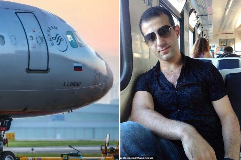 طائرة بوينغ 737 تدهس شابا أرمنيا أثناء إقلاعها من مطار موسكو