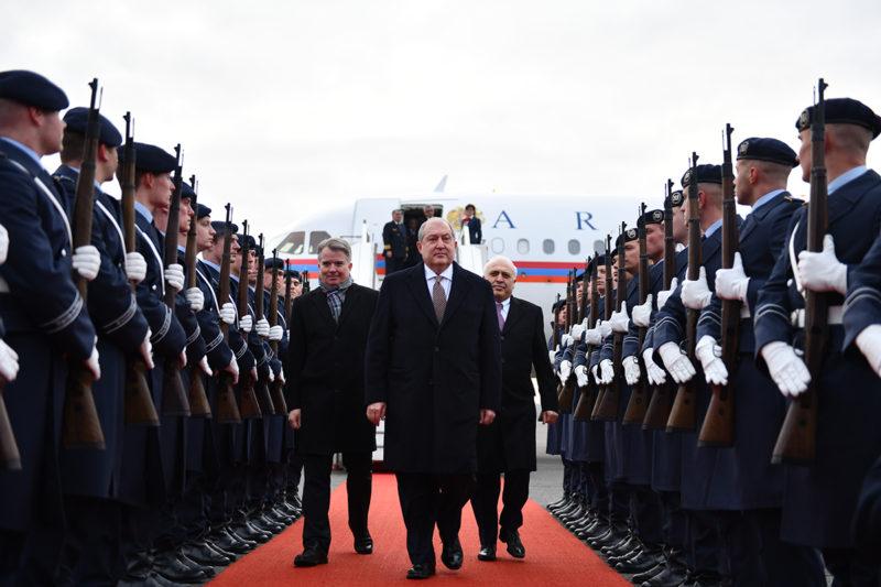 رئيس جمهورية أرمينيا يبدأ زيارة رسمية لجمهورية ألمانيا الاتحادية