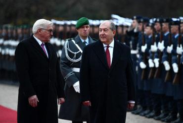 نوفمبر 2018: زيارة رئيس جمهورية أرمينيا آرمين ساركيسيان إلى ألمانيا