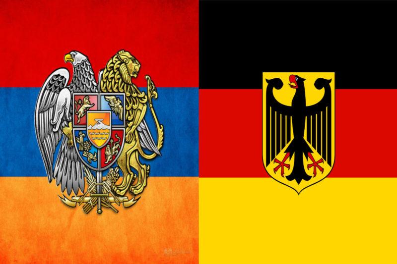 العلاقات الأرمنية الألمانية