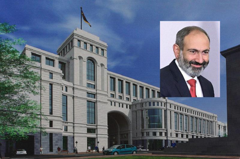 نيكول باشينيان ينوي إلغاء وزارة الشتات