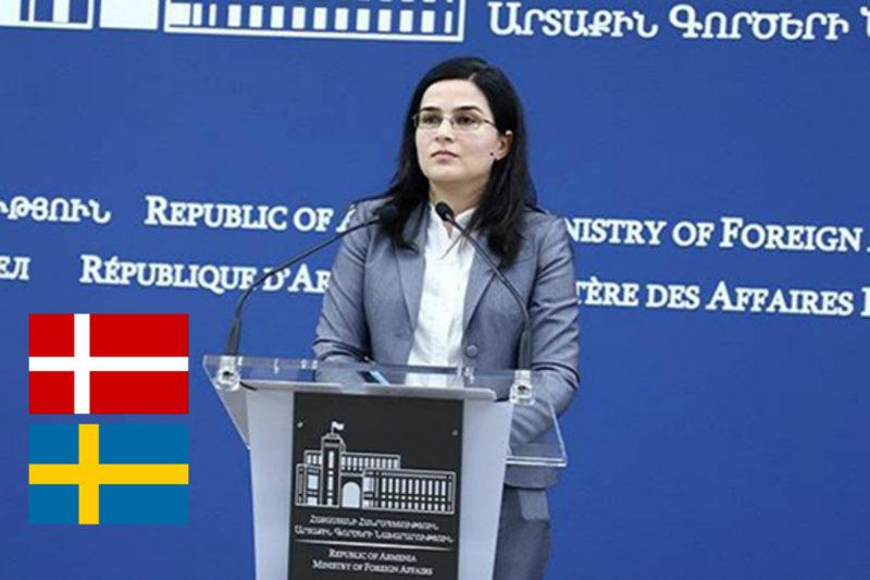 أرمينيا تقرر دمج سفاراتها في الدنمارك والسويد بسفارة واحدة مقرها ستوكهولم